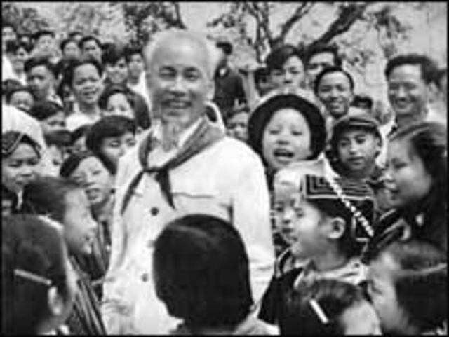 Cố Chủ tịch Hồ Chí Minh và thiếu nhi