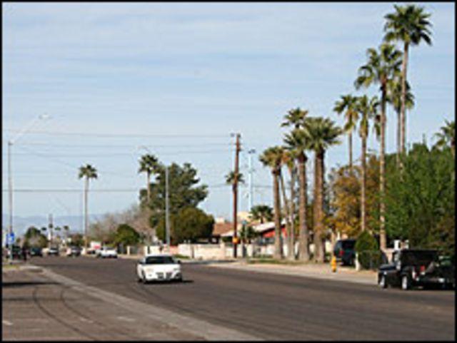 Calle en El Mirage