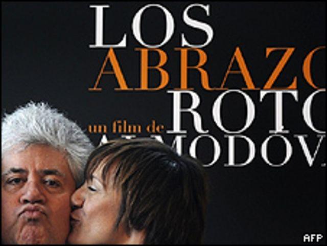 Pedro Almodóvar y Blanca Portillo