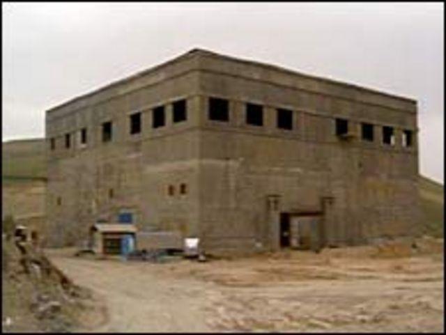 عکس بدون تاریخ سازمان سیا از راکتوری که ادعا می شود در سوریه تحت ساخت بود