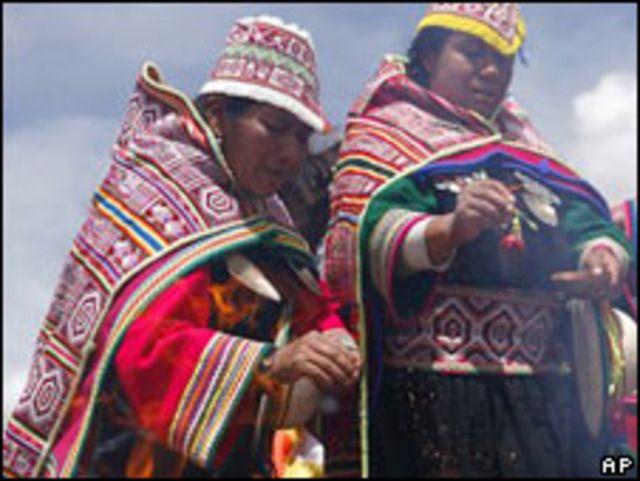 Indígenas bolivianos