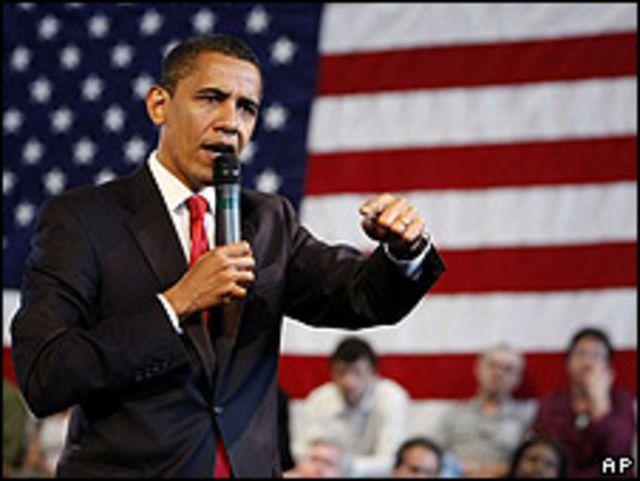 Barack Obama, presidente de Estados Unidos, en el Centro Educativo Miguel Contreras de Los Ángeles