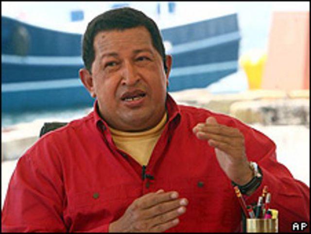 Hugo Chávez, presidente de Venezuela (imagen de archivo)