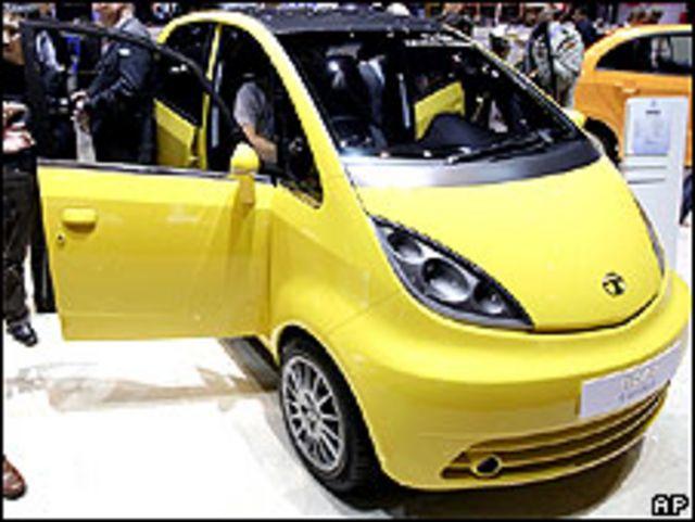 Coche Nano de Tata Motors