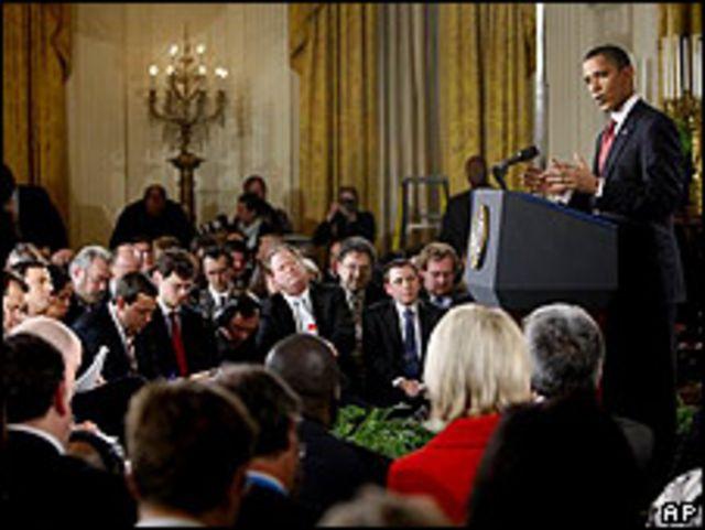 Obama durante rueda de prensa