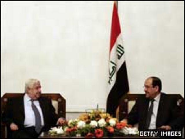 Suriye ve Irak başbakanlarının geçen yıl yaptıkları görüşme