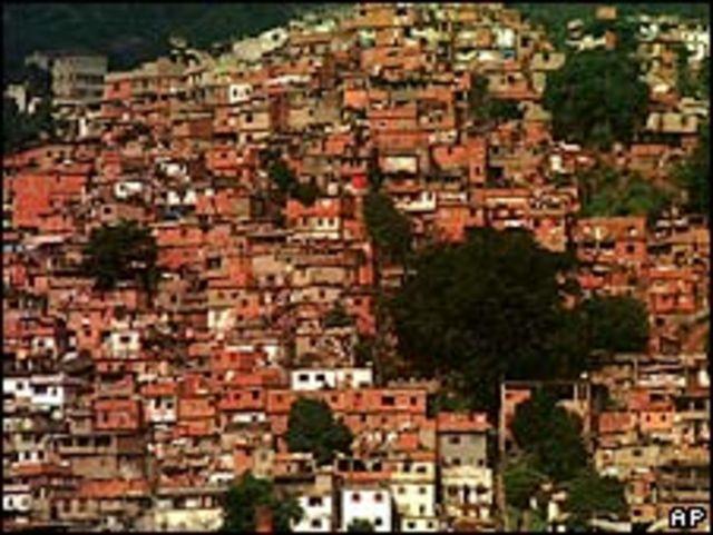 Favela en Brasil