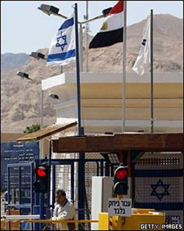 Frontera entre Israel y Egipto