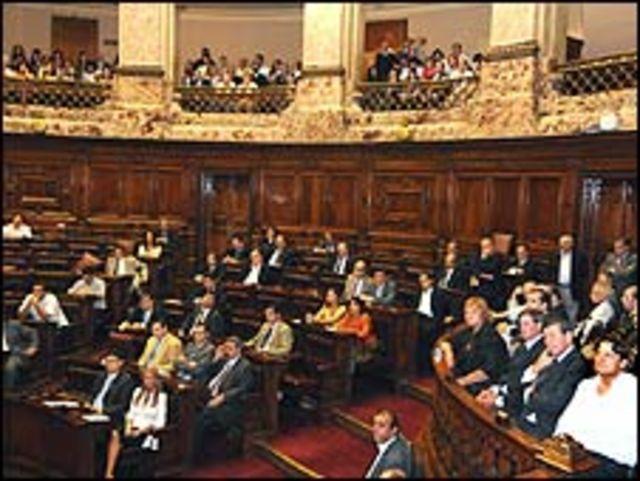 Parlamento de Uruguay (Foto: Poder Legislativo)