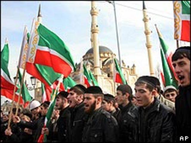 Chechenos festejan el 9 de marzo el nacimiento de Mahoma
