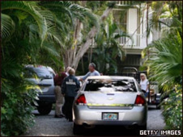 Casa de Madoff en Palm Beach.