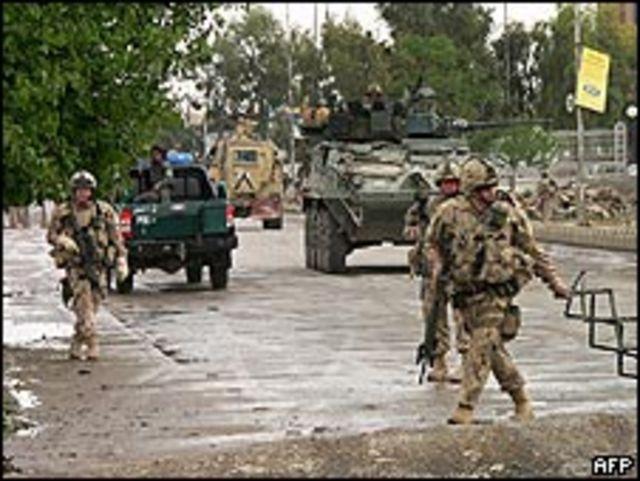 Soldados de la OTAN en Afganistán (Foto: Archivo 01/04/2009)