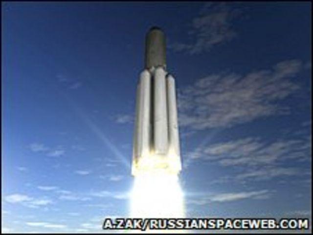 Lanzamiento de un cohete Angara-7 (Anatoly Zak/Russianspaceweb.com)