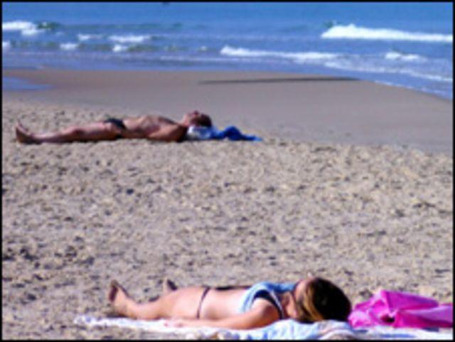 Playa en Tel Aviv