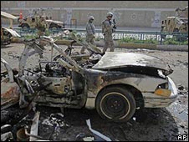 Coche bomba en Bagadad