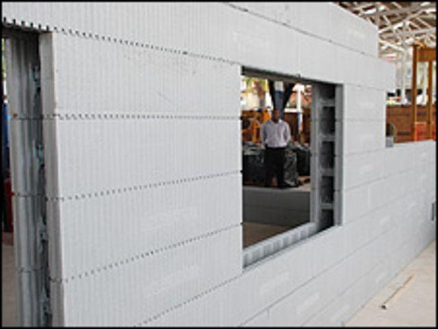 Bloques ecológicos para la construcción de casas