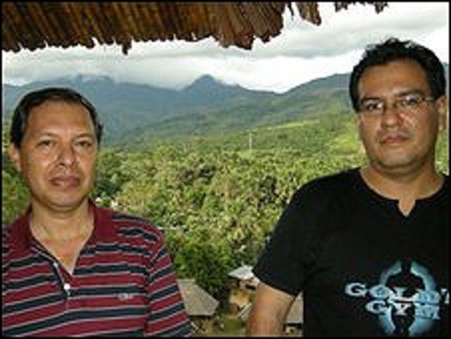 Jaime Bustamante y Octavio Alvarado