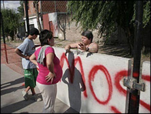 Muro entre San Fernando y San Isidro en Buenos Aires