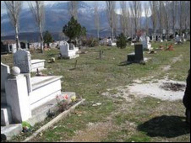 Cementerio Kukes, Albania