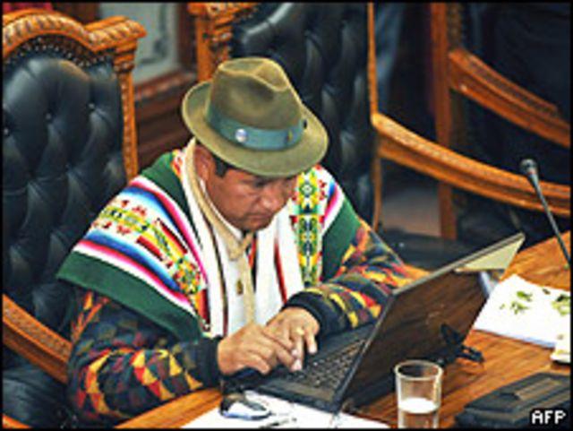 Congresista indígena