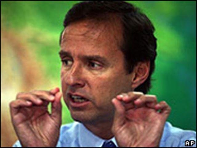 Líder opositor Jorge Quiroga
