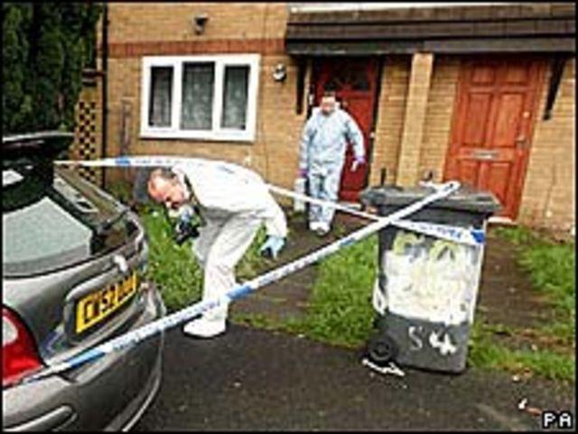 Investigación policial en el Reino Unido
