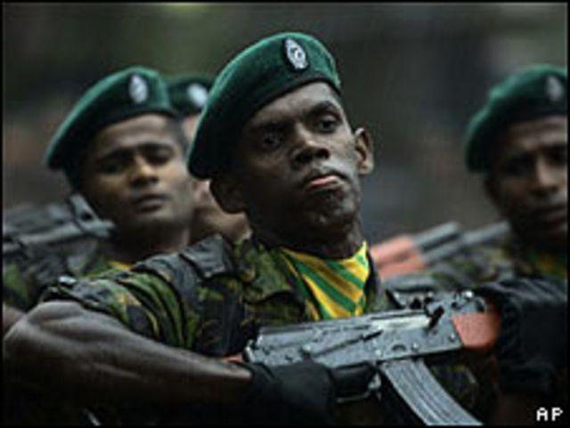 Policías en Sri Lanka (Foto: Archivo)