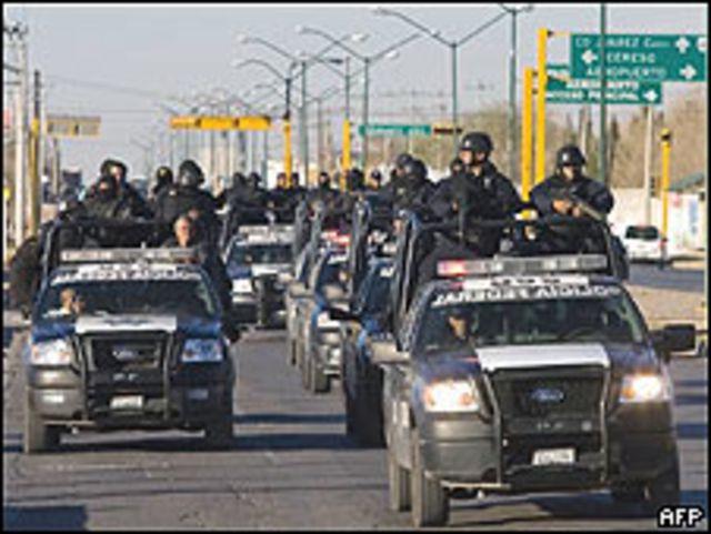 Policías en Ciudad Juárez (Foto: Archivo)