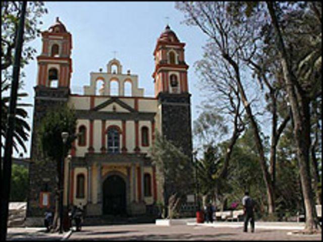 Santuario de la Virgen de la Bala, en México.