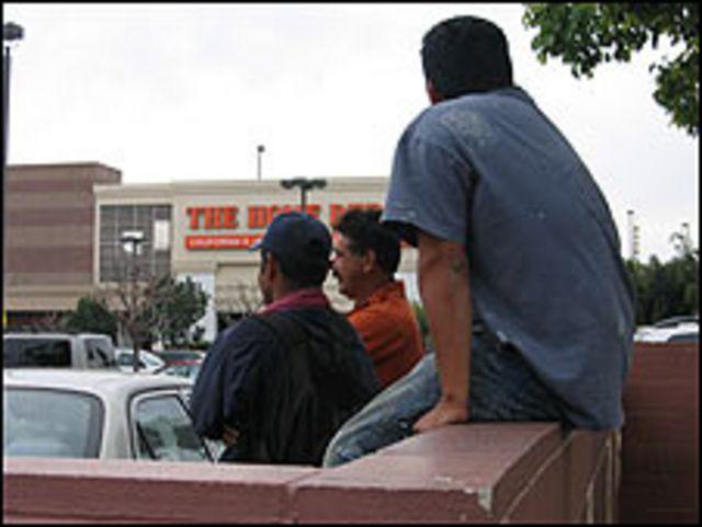 Trabajadores indocumentados en Los Ángeles