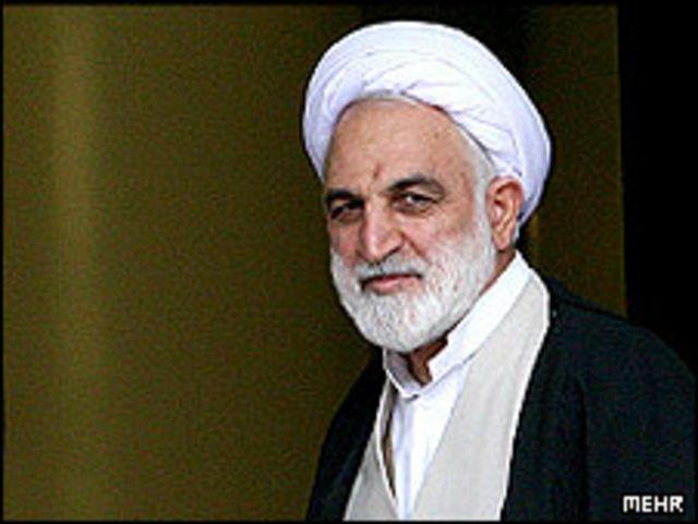 وزیر اطلاعات ایران گفت با تخریب های انتخاباتی از طریق اس ام اس و اینترنت به شدت برخورد خواهد شد