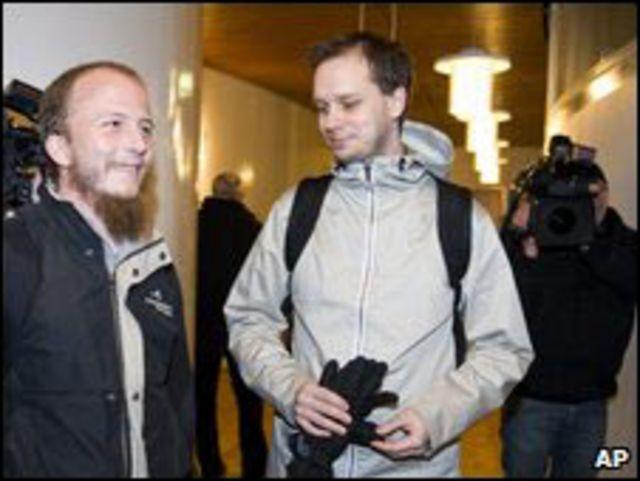 Gottfrid Svartholm Warg y Peter Sunde