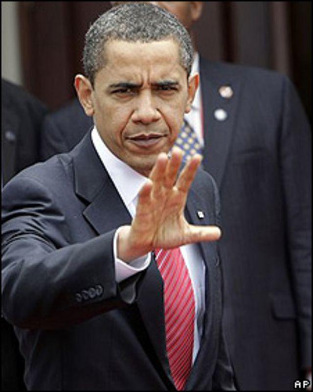 Barack Obama se despide de la Cumbre de las Américas en Trinidad Tobago