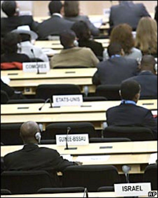 Sillas vacías de EE.UU. e Israel en la conferencia contra el racismo