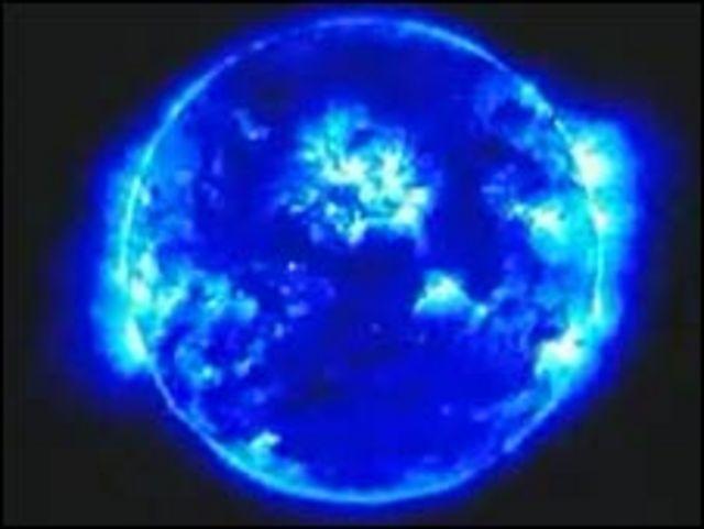 Planeta con su sol