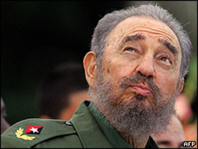 Fidel Castro / Foto de archivo