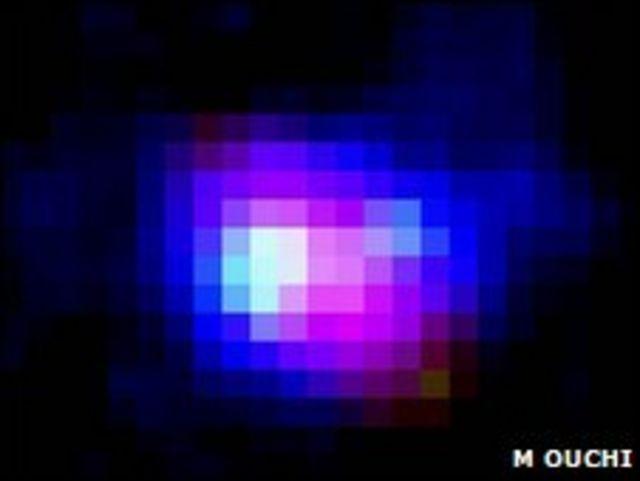 Mancha cósmica Himiko