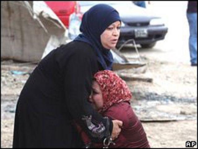 Mujeres iraquíes