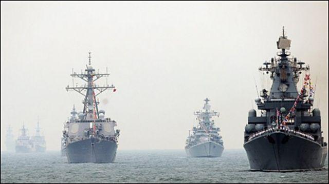Diễn tập hải quân Trung Quốc