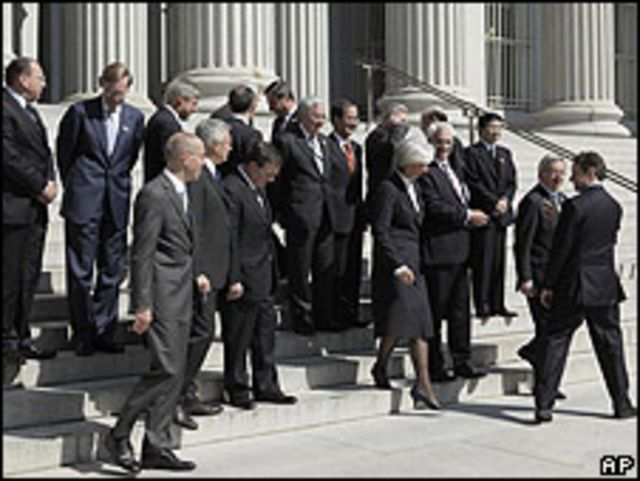 """Foto de familia"" del G7"