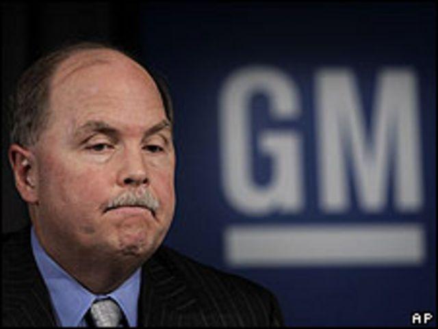 Fritz Henderson, genernte ejecutivo de GM