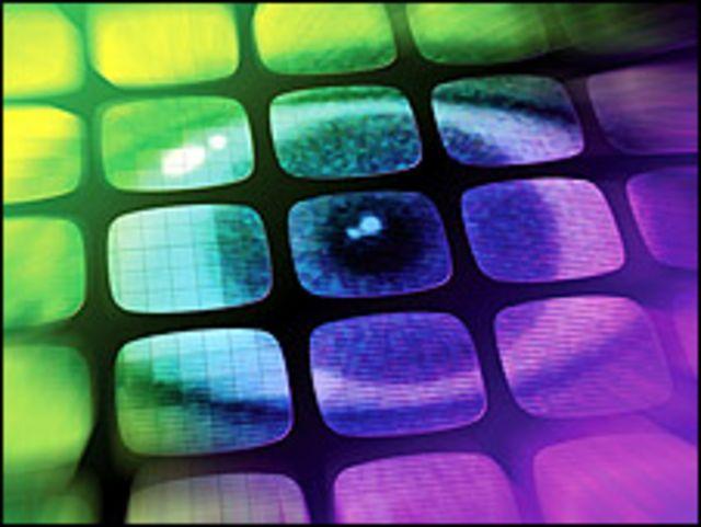 Montaje gráfico sobre videovigilancia