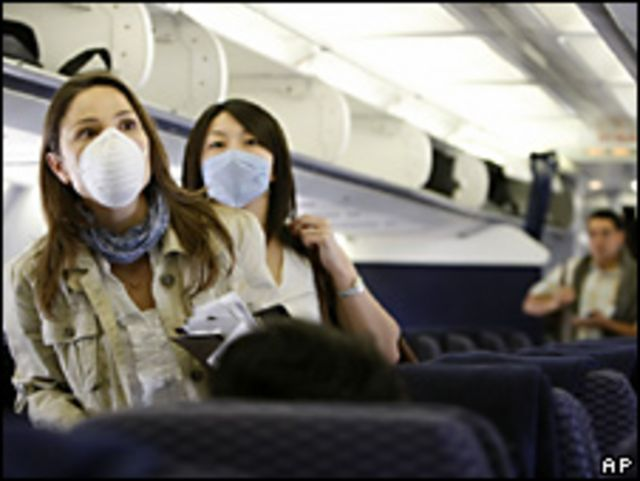 Mujeres con mascarillas