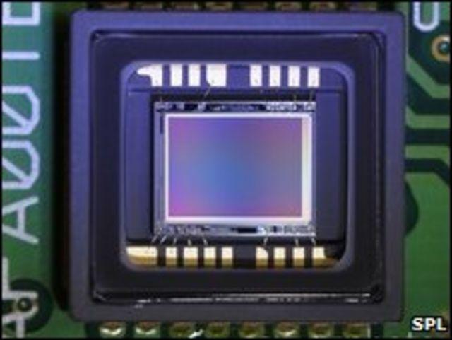 Imagen de una CCD