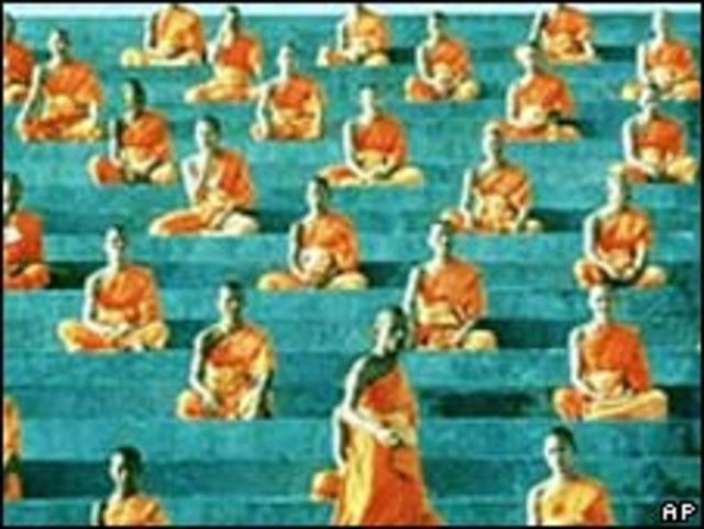 Monjes tailandeses
