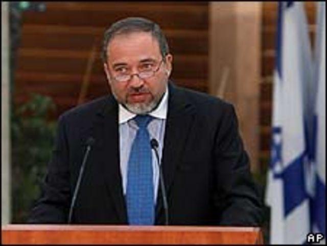 Avigdor Lieberman, canciller de Israel