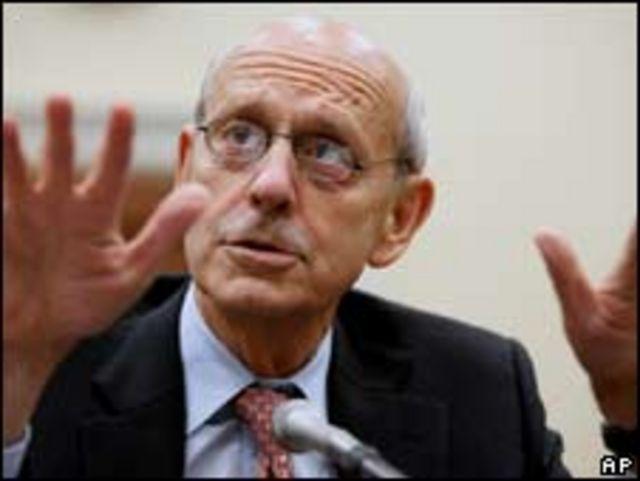 Stephen Breyer, magistrado supremo
