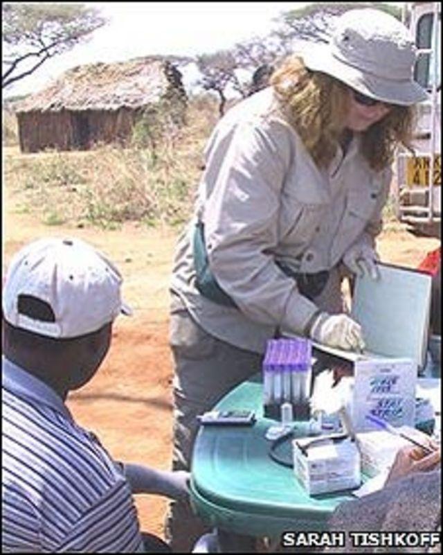 n estudio llevado a cabo por Sarah Tishkoff ha descubierto el mapa genético de los africanos.
