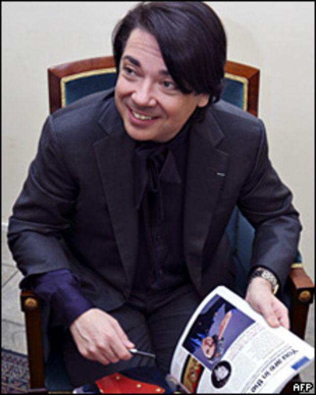 Valentin Yudashkin. 23/04/08