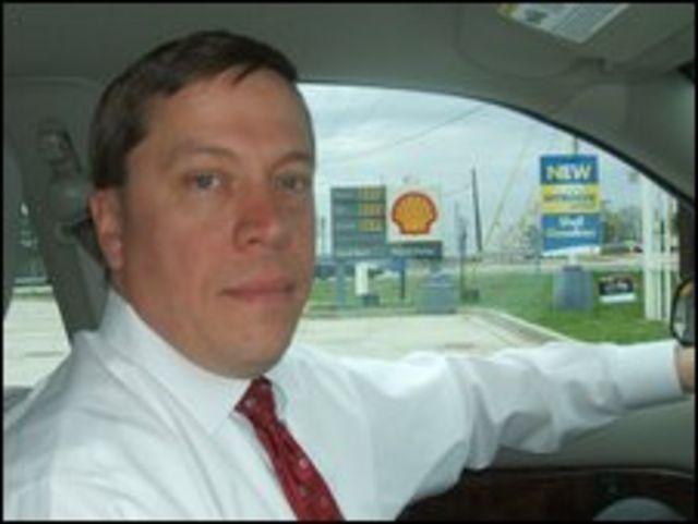 Rod Benson, agente de la DEA